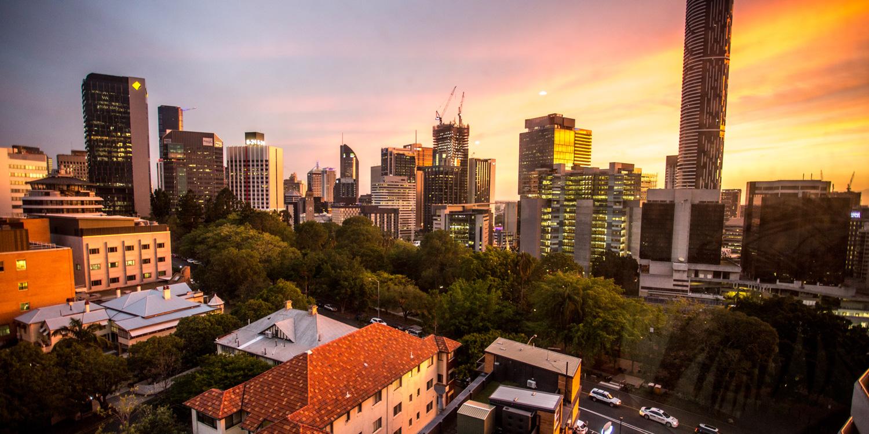 brisbane-skyline | Pacific Hotel Brisbane